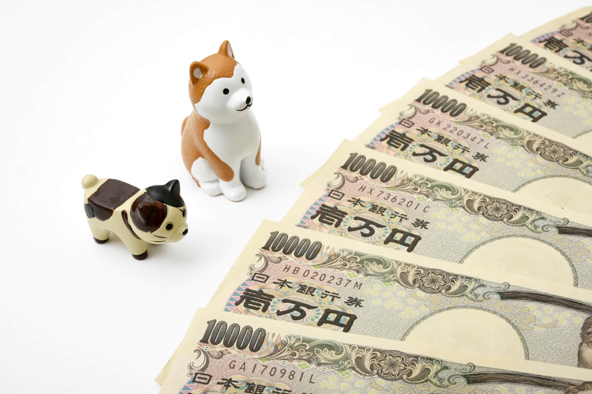 ペットに掛かるお金